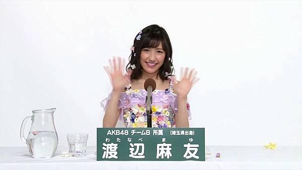 AKB48 45thシングル 選抜総選挙 第8回政見_20160524230927