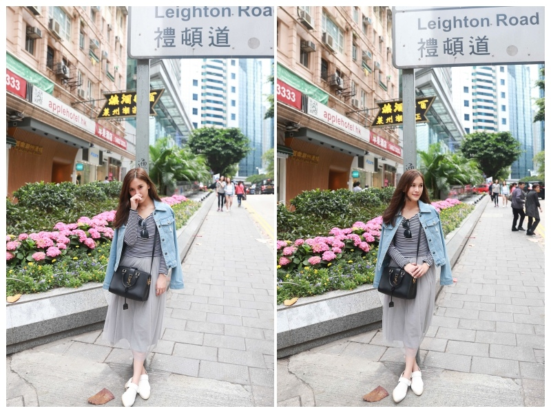 香港自由行穿搭