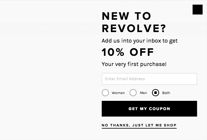 REVOLVE購物