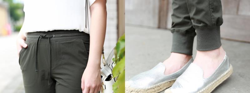 Uniqlo春夏穿搭束口褲