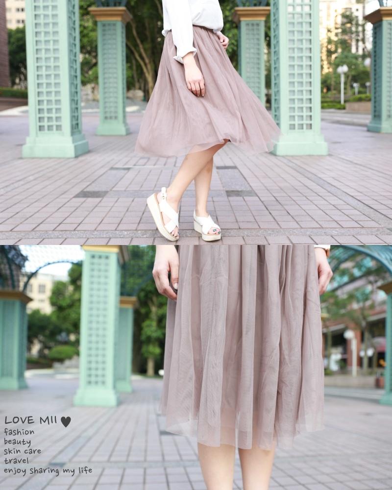 Peachy紗裙穿搭