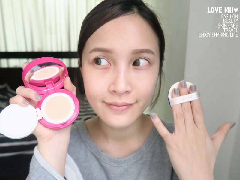 innisfree超潤色CC舒芙蕾粉餅 粉漾戀彩彩殼