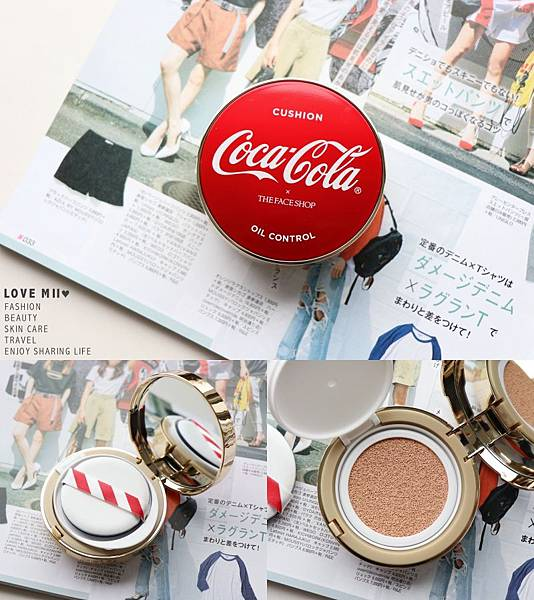 Coca Cola The Face Shop 聯名彩妝