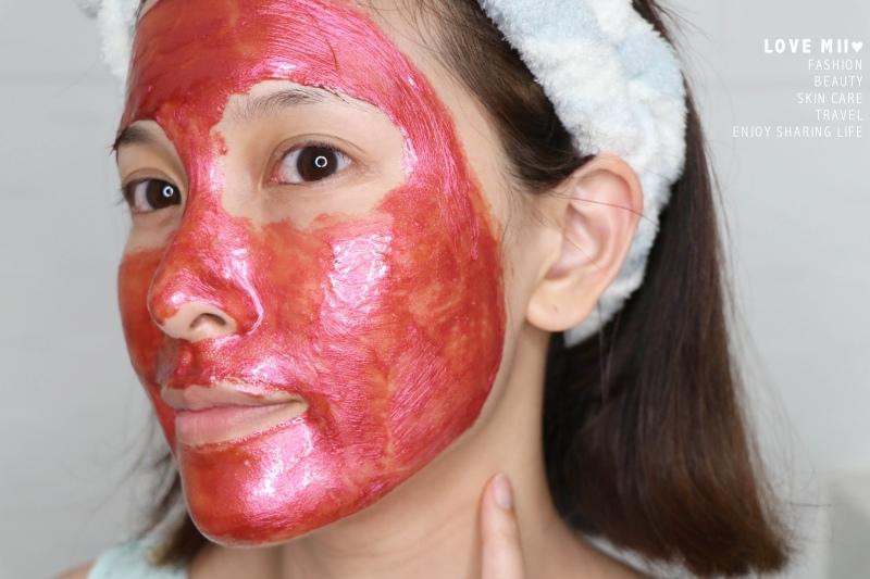 WASO柚子柑橘晚安凍膜 紅紫蘇淨化面膜