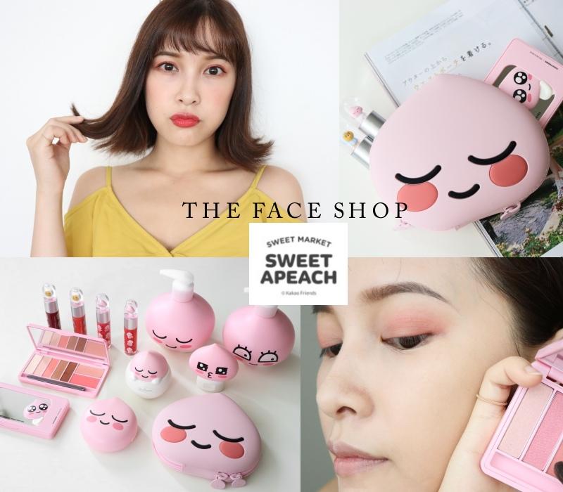 THE FACE SHOP 聯名 APEACH