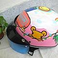 [頭蓋起來]受人之託的安全帽