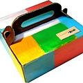 必勝客的蛋糕盒子 彩繪後是另ㄧ種風貌