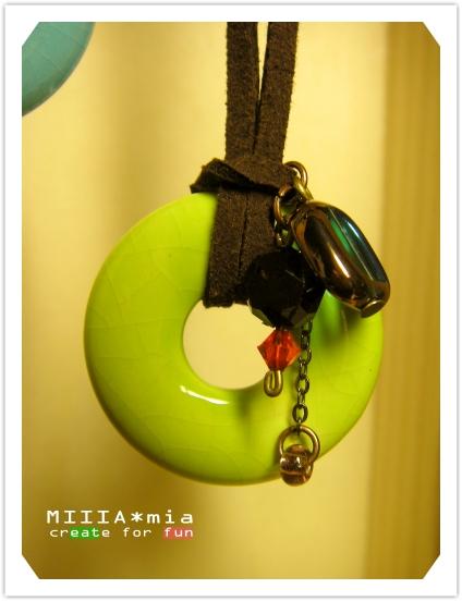 瓷圈圈(草綠)