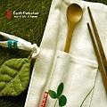 環保筷和湯匙 一套!!