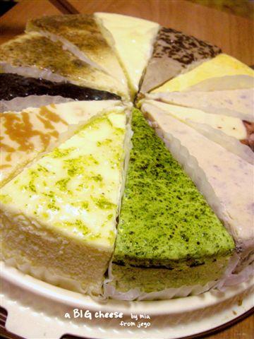 正是我超喜歡的起司蛋糕口感!!就是很喜歡帶點硬度的起司,超濃郁!!好滿足~
