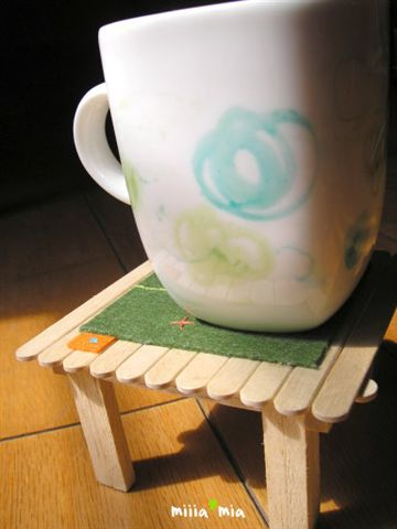 杯子二號:綠色歐蕾