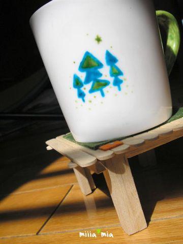 杯子三號:mia專屬 有樹叢