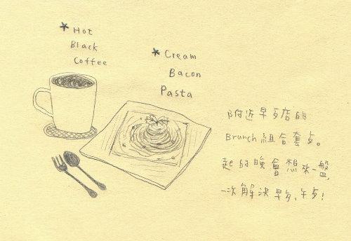 早餐義大利麵