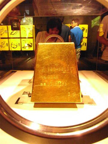 黃金博物館一定有最大最重的黃金!