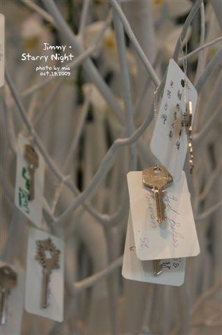 幾米的展覽,大廳的祈福樹
