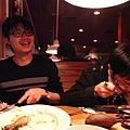 OUTBACK吃大餐,慶祝PAO可以安心畢業!