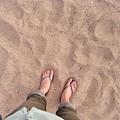 白沙灘好細好舒服