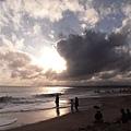 天空的雲是一幅畫