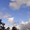 藍藍的天在墾丁最棒了