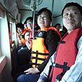 坐玻璃船來看海底世界!