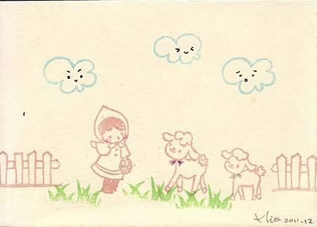 拜訪小羊姊妹2