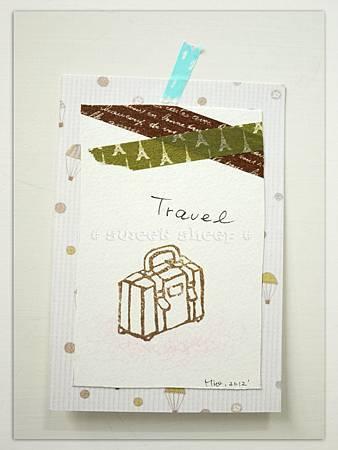 #5好想去旅行_單色版