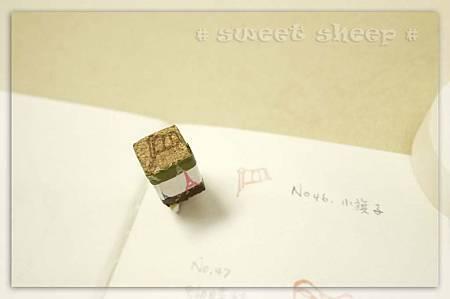 刻樂園no46小旗子-持手