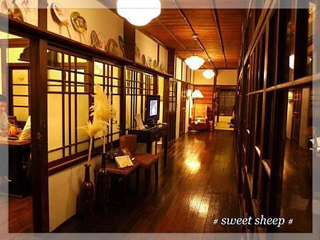 青田七六室內走廊全景