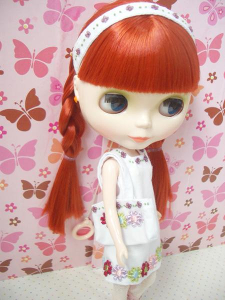 純愛物語串珠刺繡洋裝3