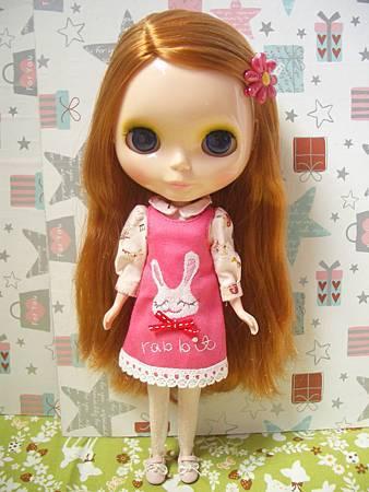 no26.刺繡小兔洋裝
