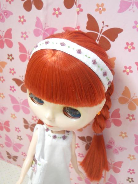 串珠刺繡髮帶