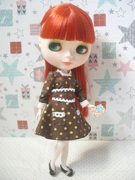 no16復古水玉洋裝