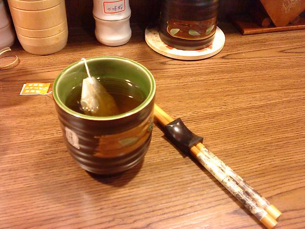 茶杯與筷子