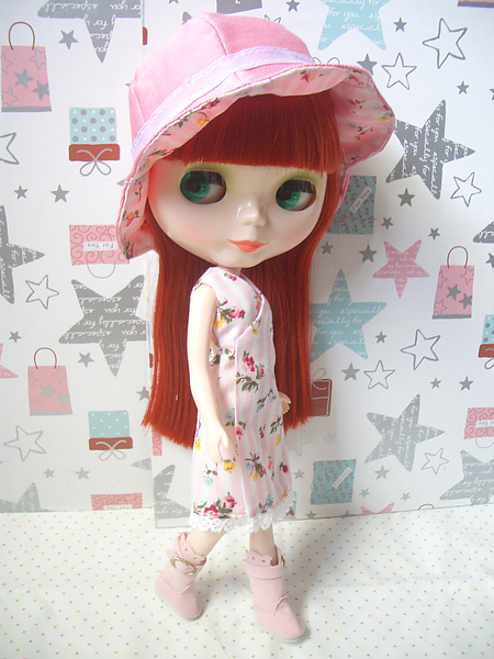 no14.條紋玫瑰粉紅蕾蒂