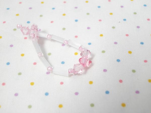 NO#2 粉紅珠光項鍊