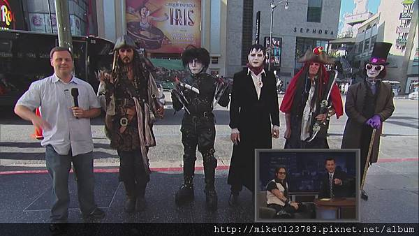 Johnny Depp on Jimmy Kimmel Live PART 4[10-31-56]