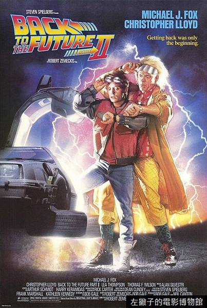 back to the future 2 poster