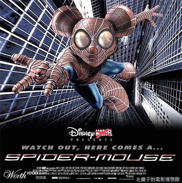 米奇 蜘蛛人 迪士尼