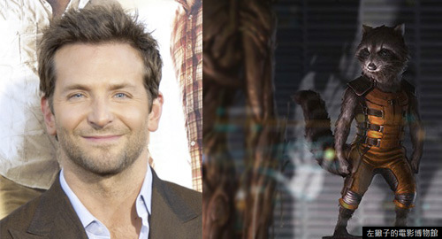 bradley-cooper-voices-rocket-raccoon-gaurdians-of-the-galaxy