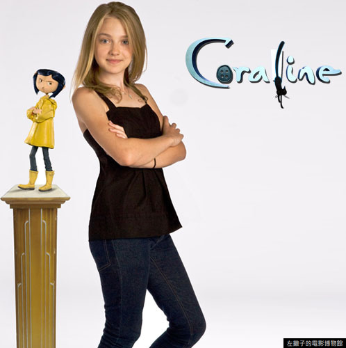 Coraline Dakota and her doll