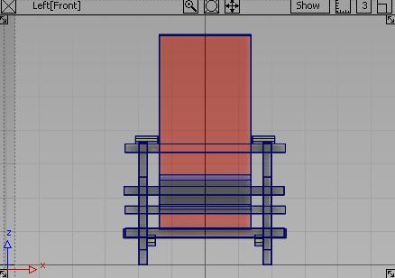 紅藍椅LEFT視角,完成圖
