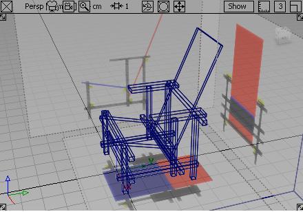 紅藍椅3D視角,完成圖01