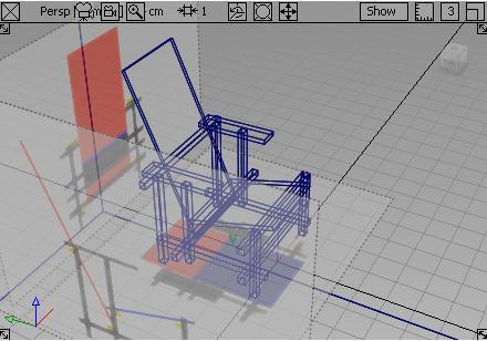 紅藍椅3D視角,完成圖02