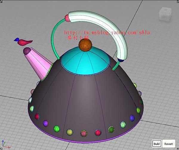 鳥鳴壺01,3D