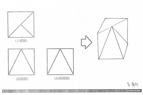 手繪,三視圖06