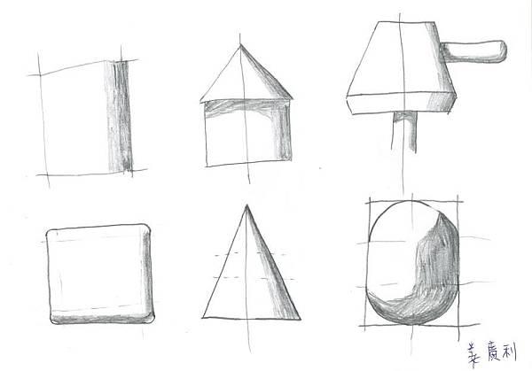 2B鉛筆,色階手繪01