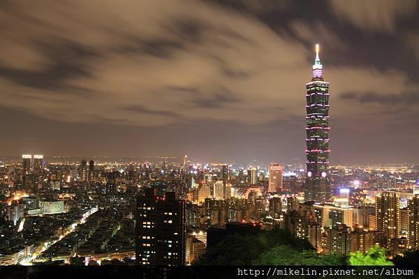 Taipei 101 night
