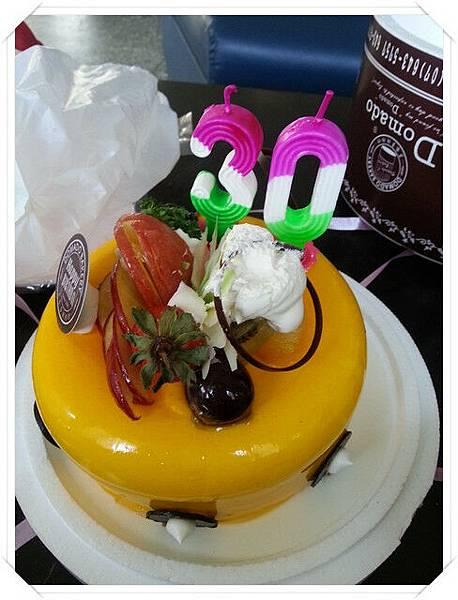 30歲生日快樂!