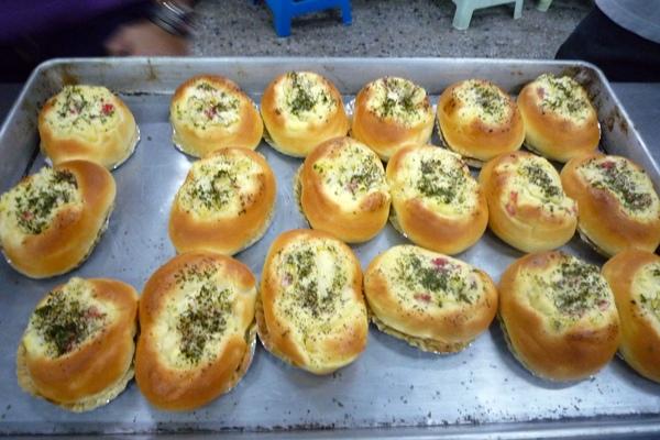 海鮮焗麵包