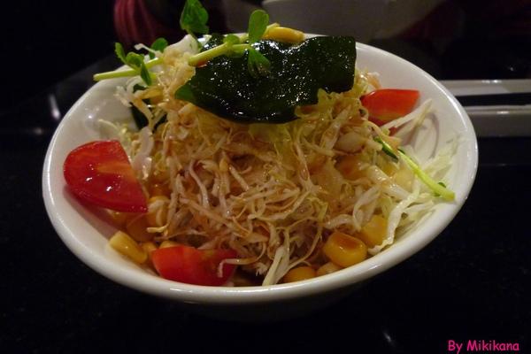 樂樂庵御飯屋-定食附餐沙拉